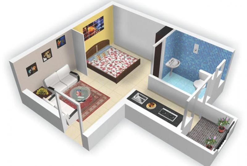 apartment flat mathura