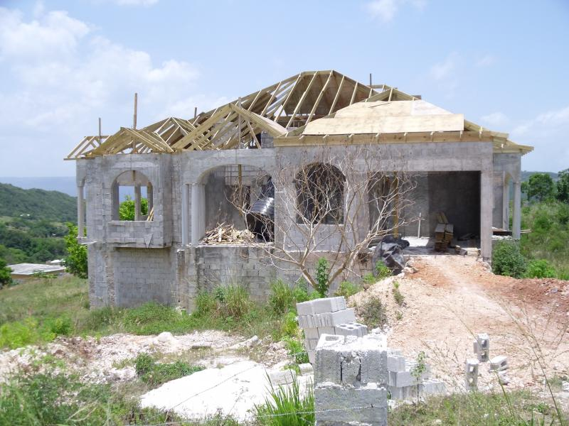 Plot of land southfield plot of land for sale southfield for Cost of building a house in jamaica