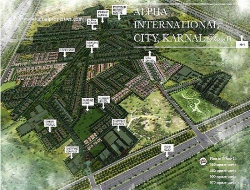 plot of land karnal