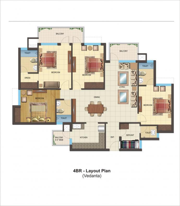 apartment flat bahadurgarh,haryana