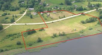 Plot of land with house Latgale
