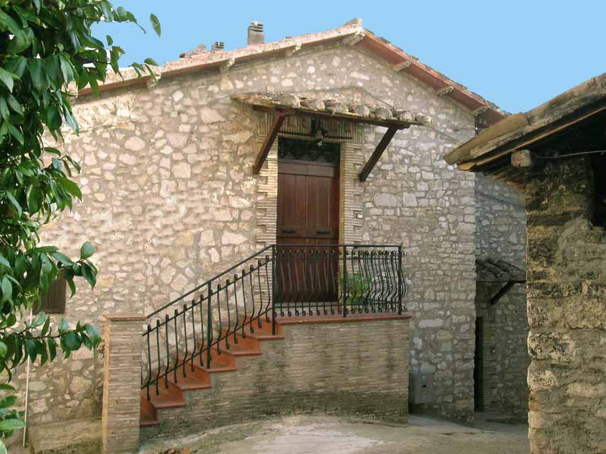 Charming rural stone house Umbri Ferentillo