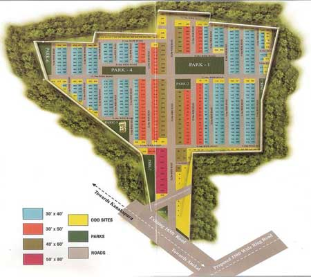 BMRDA PLOTS NEAR ELECTRONIC CITY Bangalore