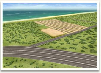 Beach plots for sale at ECR,chen 600001