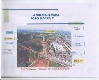 in selling the land area of 5030 Bekasi