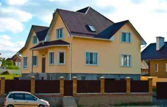 New house in Ukraine Kiev, Village Petrivske