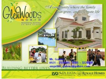 GLENWOODS NORTH LOT FOR SALE Sta. Maria, Bulacan