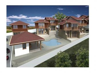 Luxury new houses for sale. Kosharitsa