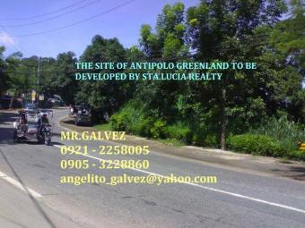 GREENLAND ANTIPOLO LOT FOR SALE Antipolo City
