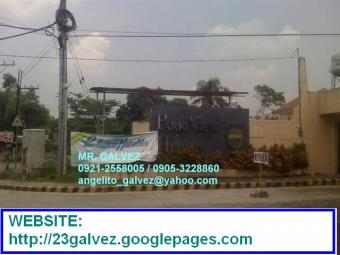 PARKVIEW HEIGHTS LOT FOR SALE Brgy. Bagumbong, Caloocan City