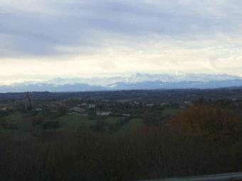 in National Forest view Pyrenees Aignan