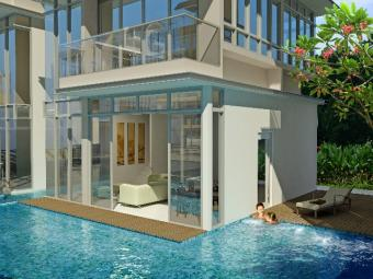 Modern Living ! cluster bungalow Singapore