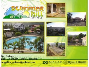 SUMMER HILLS LOT FOR SALE Antipolo City