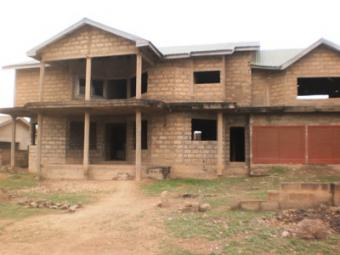 Uncompleted Storey Building At E East Legon