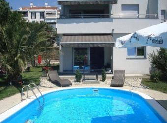 Apartments at 3 floors from 300m Kostrena