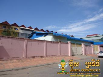 WAREHOUSE FOR RENT LOCATED TORK Phnom Penh