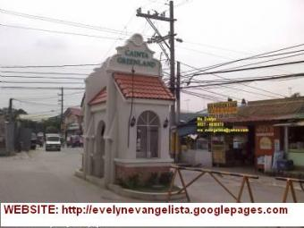 CAINTA RIZAL LOT FOR SALE Cainta