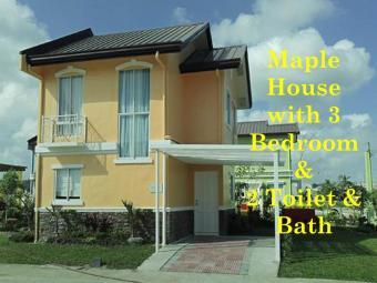 Maple house for sale w/3BR Carmona