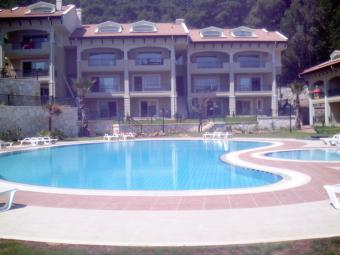 New complex closed by a forrest Marmaris