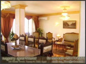 furnished apartment for rent Cairo
