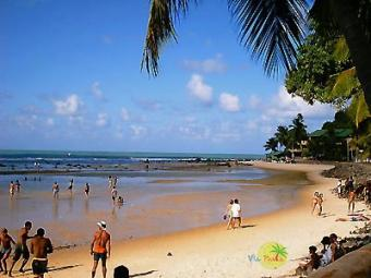 Land in the beach of Pipe/Brazil Natal   Pipe