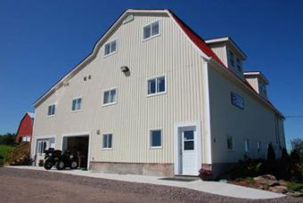 6000 sq. foot building with home Amherst