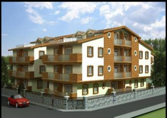 Sunny Complex 2 and 3 bedroom Didim