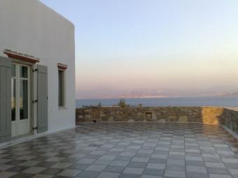 Mediterranean breataking view Cyclades Paros