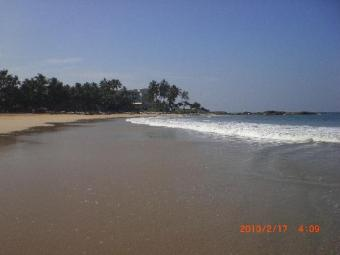 2 Acres Beach front Land  Galle Galle