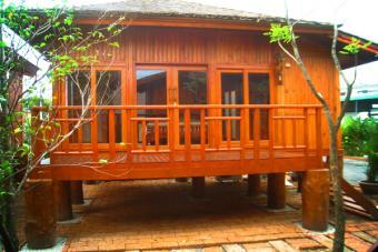 Wood House for rent Pattaya