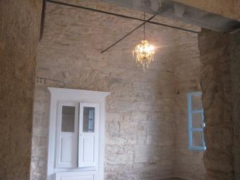 Chios Island restored stonehouse Chios