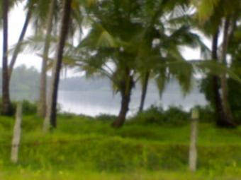 Resort Land facing river with be Udupi