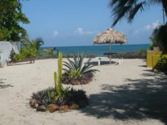 Caribbean Beach Plot & Cottage Central America