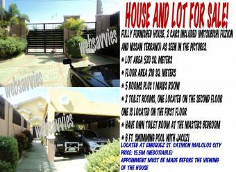 Fully Furnished house in Malolos Malolos City
