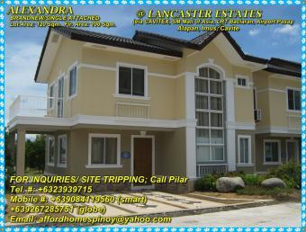 ALEXANDRA 4Bedrooms Easy Install Cavite