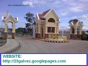STA. BARBARA PLACE LOT FOR SALE Tandang Sora