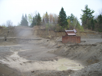 Sand and Gravel Pit Vassalboro