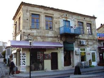 Old grek Houses Turkey Foca İzmir