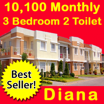 Diana 3bed 2toilet Townhouse Cavite