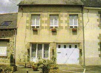 town house for sale in Brittany La Trinite Porhoet