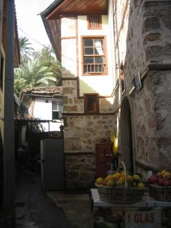 Old House in romantic old habour Antalya