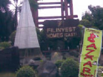 FILINVEST HOMES EAST LOT 4 SALE Cainta