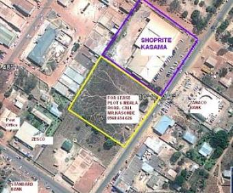 Prime Area Plot for Lease Kasama