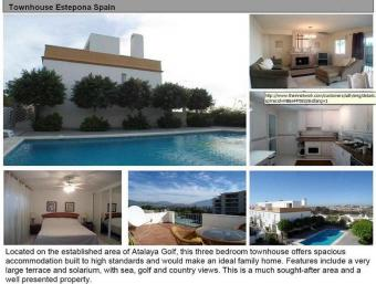 Townhouse For Sale/Rent Estepona