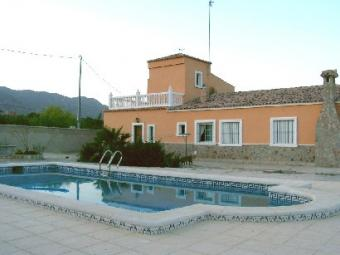 Large Spanish country house Alicante