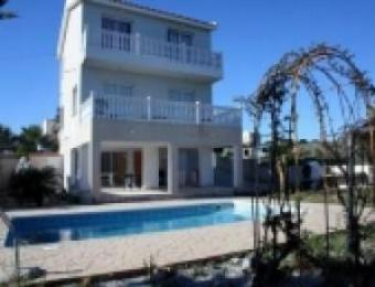 Superb mountain & sea view villa Khlorakas
