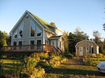 Home on 26.5 ocean front acres Fredericton