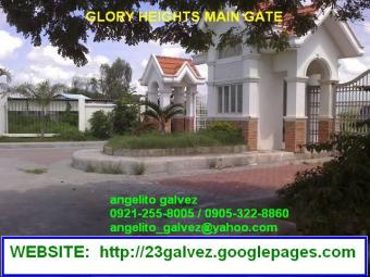 GLORY HEIGHTS LOT FOR SALE Mcarthur H Way,sto. Tomas, Pam