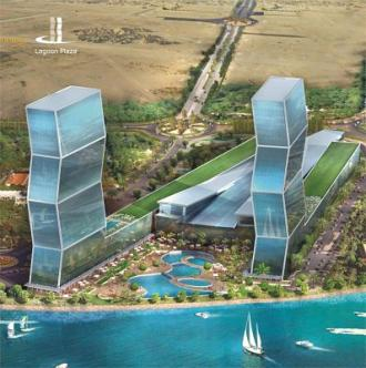 luxury apartment at Zigzag Tower Doha