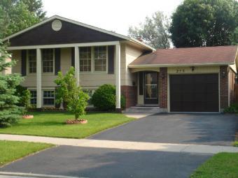Georgian style raised bungalow Kitchener